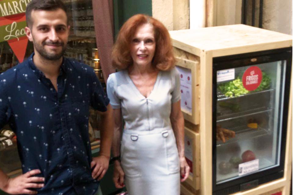 Un frigo Solidaire à Montpellier