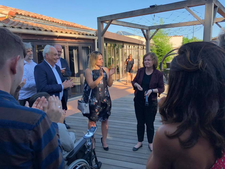 Visite de Madame la ministre Nathalie Loiseau