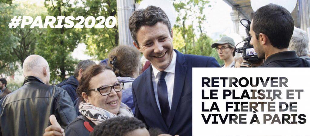 Benjamin GRIVEAUX, tête de liste pour les élections municipales 2020 de la ville de Paris