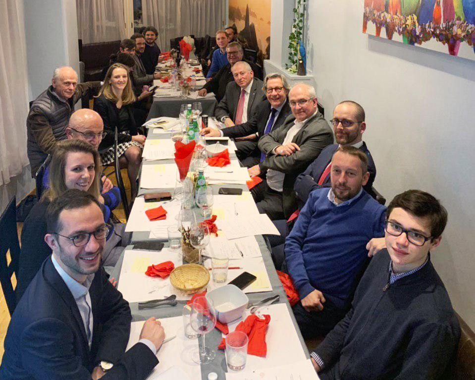 """Grand Débat - Diner Experts """"Démocratie et Citoyenneté"""" à Genève"""