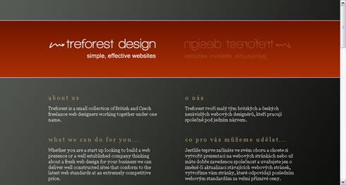 Treforest Design: aplicação do princípio de Gestalt da proximidade.
