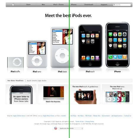Elementos de design aplicados à web: equilíbrio simétrico