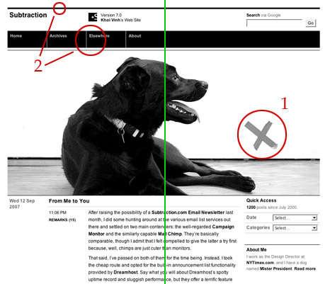 Elementos de design aplicados à web: equilíbrio assimétrico
