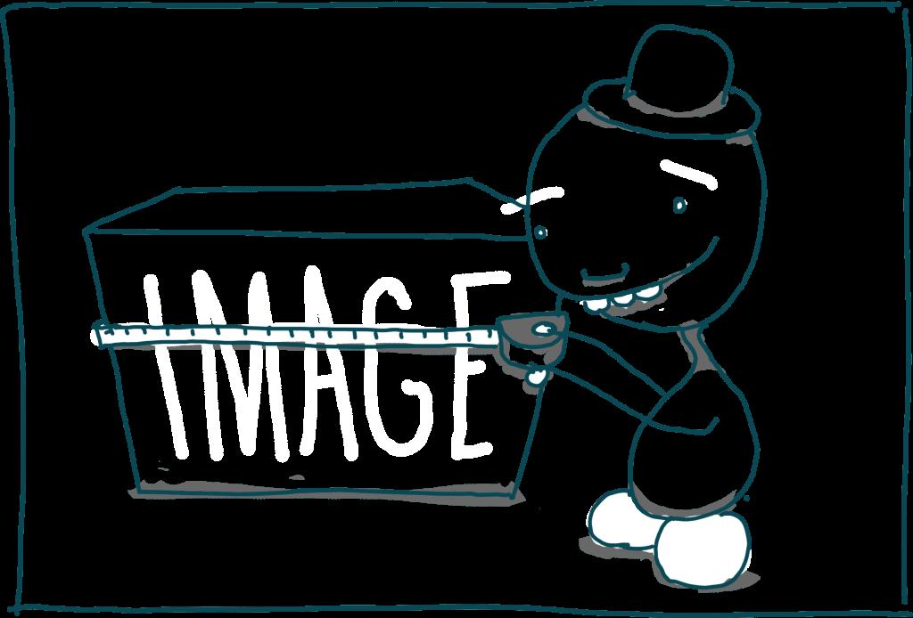 Imagens responsivas com srcset e sizes: medindo a 'caixa'