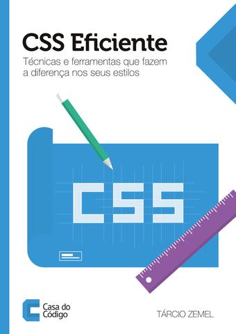 Capa do livro CSS Eficiente