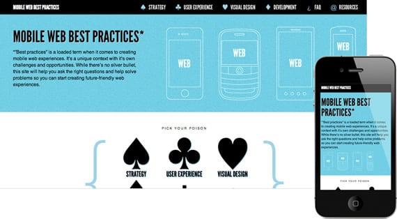 10 dicas para menus responsivos: site Mobile Web Best Practices.