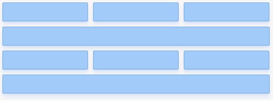 """Próxima linha com Flexbox: layout do """"desafio"""" proposto."""