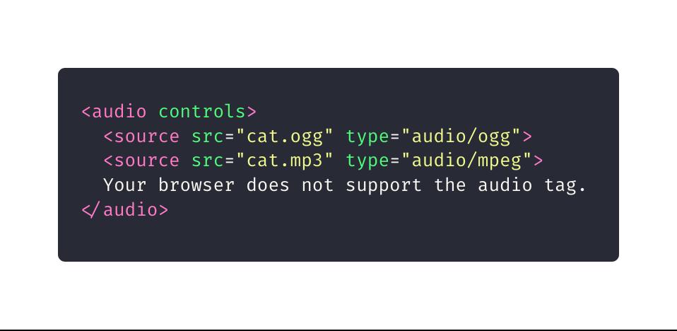 10 elementos HTML que você não sabia que precisava: audio