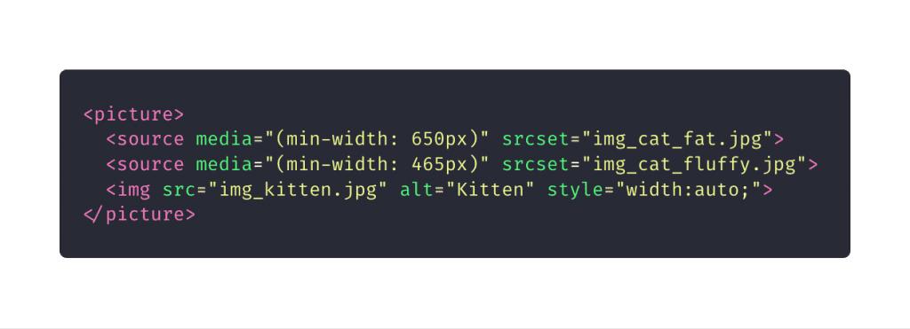 10 elementos HTML que você não sabia que precisava: picture