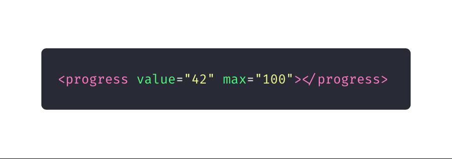 10 elementos HTML que você não sabia que precisava: progress