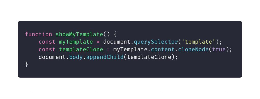 10 elementos HTML que você não sabia que precisava: usando o método cloneNode() de JavaScript para templates