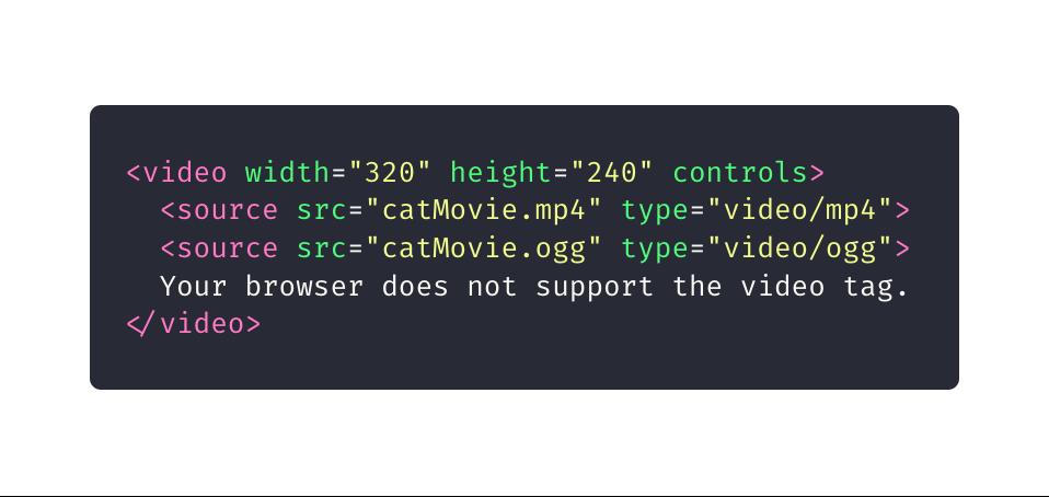 10 elementos HTML que você não sabia que precisava: video