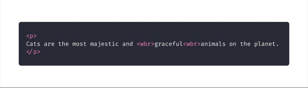 10 elementos HTML que você não sabia que precisava: wbr