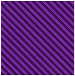 Quadrado listrado representando um elemento de cobertura CSS (seu código será mostrado mais à frente).
