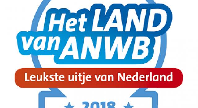 Genomineerd voor ANWB  `Leukste Uitje van Overijssel 2018`