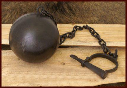 Sträflingskugel complet dhbm-1916802100