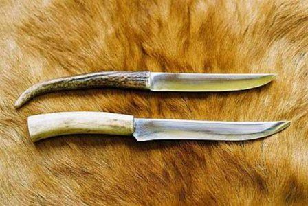 Messer mit Deer horn