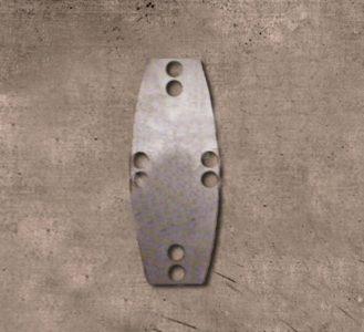 Viking Birka D shape Lamellar Plaatjes