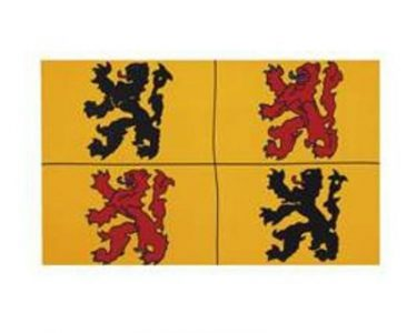 Vlag Belgische Provincie Hennegau FP-62