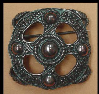 Viking Fibula/Broche 10e eeuws