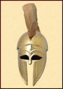 Korintische Helm met Kam