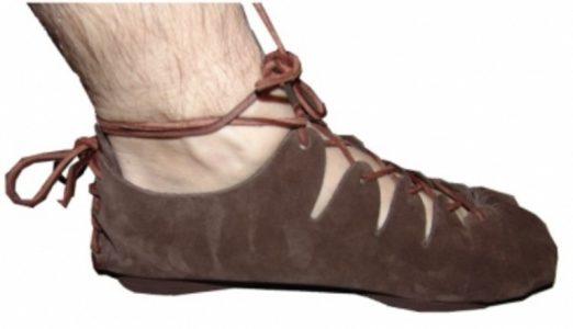 Keltischer Schuhe