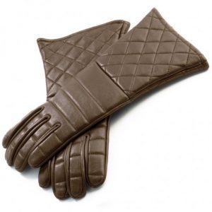 Handschoenen Leder Bruin