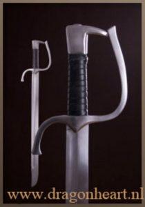 Falchion zwaard 14e - 15e eeuws