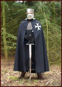 Mittelalter Umhang der Johanniter