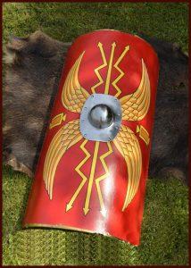 Romeins Schild met Stalen Bukkel