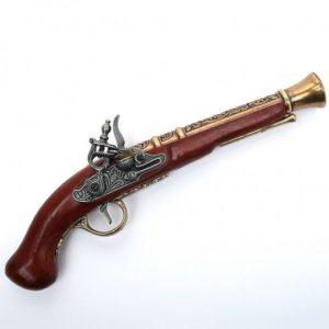 Deutsche Steinschloss Pistole HSD-64133