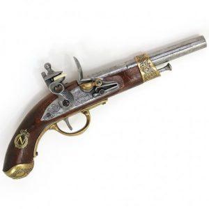 Napoleon Steinschloss Pistole HSD-64120