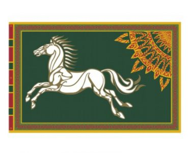 Lord of the Rings Vlag Rohan