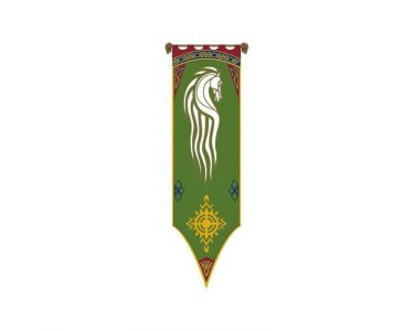Lord of the Rings Vlag Rohan I