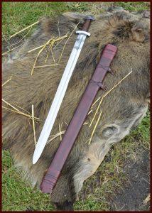 Wikinger Schwert Godfred mit scheide (deko)