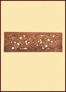Viking Draken in Runen