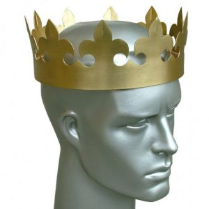 Konigliche Krone aus Messing hvpef-5601