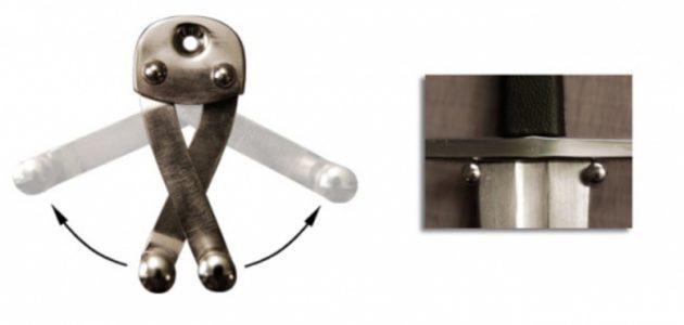 Zwaard - Dolk ophang systeem