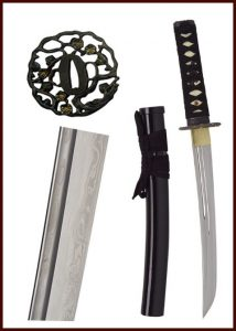 John Lee Golden Flower Tanto HSD-85713