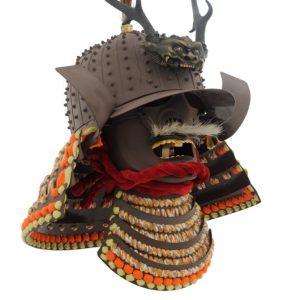 Japanse Daisho Kake Helm + Mempo