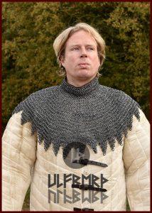 Maliënkolder Bischops Kraag, verniet, aluminium