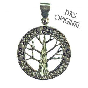 Keltische Levensboom - Yggdrasil Hanger Edelstaal