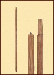 Schaft aus Rosenholz