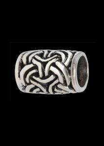 Bardperle Keltisch Silber DHBM-1404160800