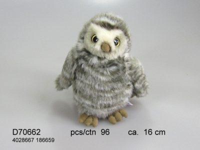 Sneeuwuil vrouwtje Pluche UT-D70662