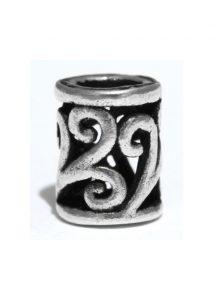 Keltische Bartperle Silber
