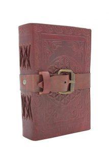 Notizbuch mit Ledereinband, klein