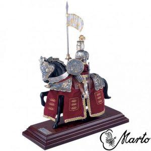 Koning Artus, Franse Ridder te Paard
