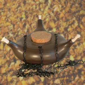 Olielamp incl.ketting, lonten Toledo 12 cm