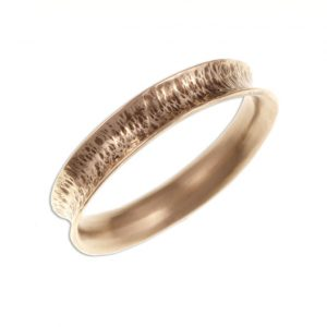 Hammered concave bangle - narrow SJ-BZBR03